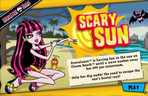 Monster High Scary Sun