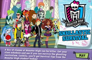 Monster High Skulltastic Survival