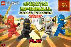 lego ninjago spinjitzu spinball unity 3d jeux - Jeux De Lego Ninjago Spinjitzu