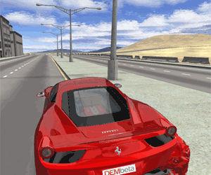 3D Ferrari F458 | Unity 3D Games