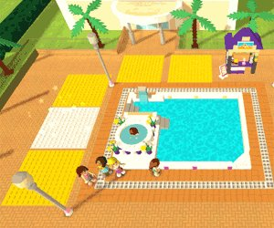 Lego Friends Pool Party Game Unity 3d Games