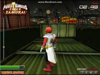 power rangers super samurai online games