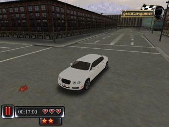 Luxury Limo 3d Parking Unity 3d Games